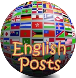 English posts (World flag image: Salvatore Vuono)