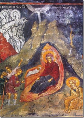 Γέννησις του Χριστού Μονή Αγίου Νεοφύτου